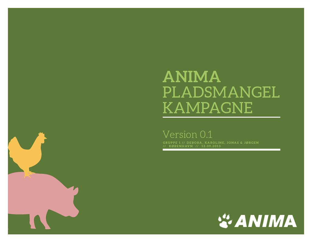 Mockup af Anima Tænk kampagne materiale